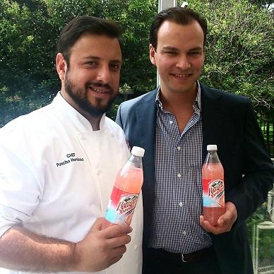 Chef Poncho Hernandez Enrique Ortiz Gerente de Marketing Grupo Peñafiel