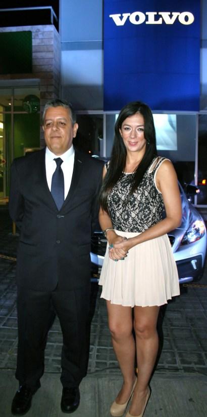 Jorge Ponce y Luigina Quiroz