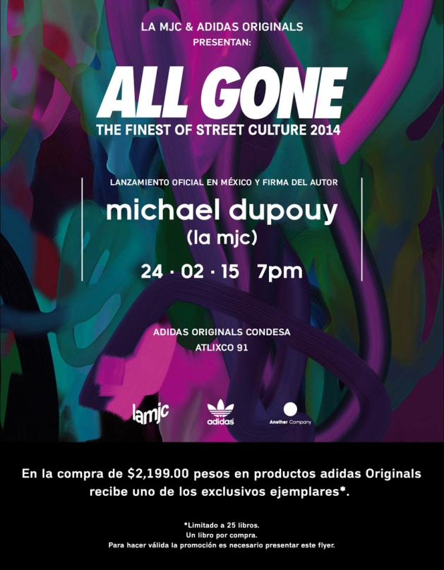 ALL GONE 2015_Invitación General