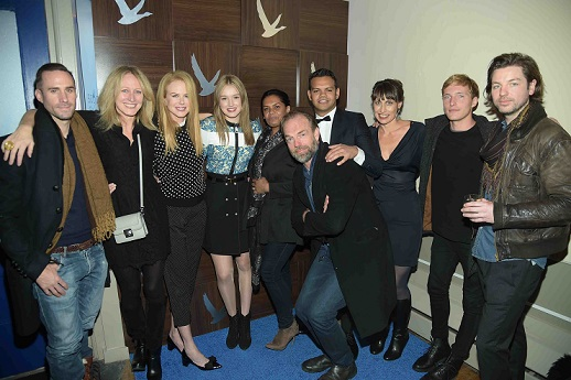 The Cast at the _Strangerland_ Cast Party at GREY GOOSE Blue Door Lounge, Sundance Film Festival