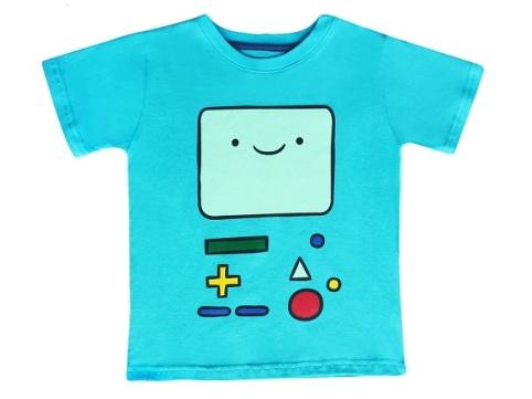 3.-Camiseta, Hora de Aventura, precio aprox $199
