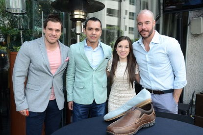 30.-Jorge Marroquin, Juan Torrealba, Alejandra Melo, Kai Parlange-Rockport Primavera-Verano 2015